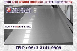 plat stainless steel murah bandung